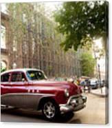 Classic Cuba Car Vii Canvas Print