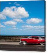 Classic Cuba Car V Canvas Print