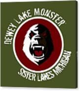 Classic Dlm Logo, Round Canvas Print