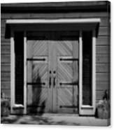 Classic Doors Canvas Print