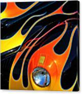 Classic Flames Canvas Print