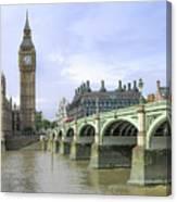 Classic London Canvas Print