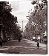 Classic Paris 10 Canvas Print