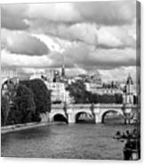 Classic Paris 5 Canvas Print