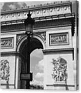 Classic Paris 6 Canvas Print