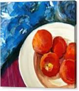 Classic Peaches Canvas Print