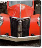 Classic Pick Up Truck Canvas Print