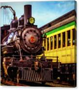 Classic Steam Train No 29 Canvas Print