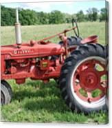Classic Tractor Canvas Print