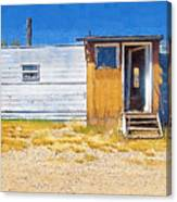 Classic Trailer Canvas Print