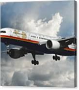 Classic Twa Boeing 757-231 Canvas Print