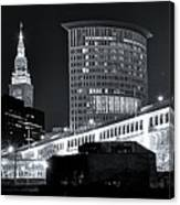 Classic View In Cle Canvas Print