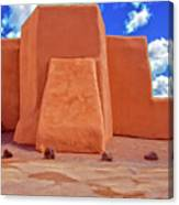 Classic View Of Ranchos Church As Oil Canvas Print