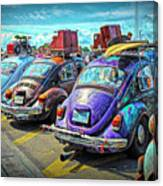 Classic Volkswagen Beetle - Old Vw Bug Canvas Print
