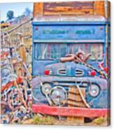 Classic Ward Colorado Boulder County Canvas Print