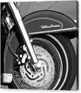 Classic Wheel Canvas Print