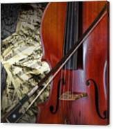 Classical Cello Canvas Print