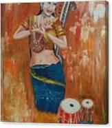 Classical Dance Canvas Print