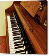 Vintage Organ Canvas Print