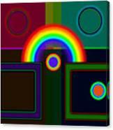 Classical Rainbow Canvas Print