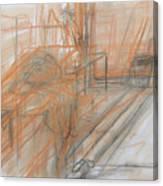 Classwork Canvas Print