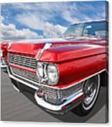 Classy - '64 Cadillac Canvas Print