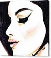Classy Lady Canvas Print