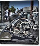Classy Trike Canvas Print