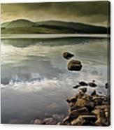 Clatteringshaws Loch Canvas Print