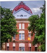 Clay County Courthouse Canvas Print