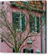 Clay Tile Roof In Charleston Canvas Print