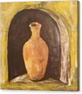 Clay Vase Canvas Print