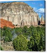 Claystone - Sandstone - Kodachrome Basin Canvas Print