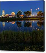 Cle Reflection Canvas Print
