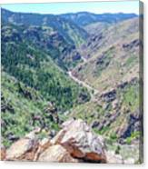 Clear Creek Canyon Canvas Print