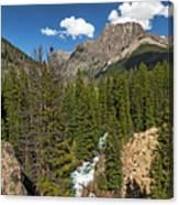 Clear Creek, Flat Top Mountain Canvas Print