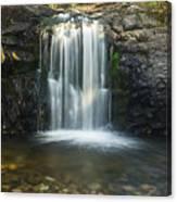 Clear Creek Water Fall Canvas Print