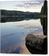 Clear Lake, Oregon Canvas Print