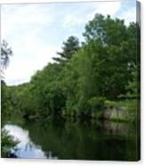 Clear River 1 Canvas Print