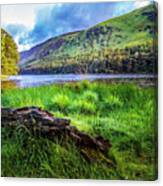 Clear Waters Of Glendalough Canvas Print