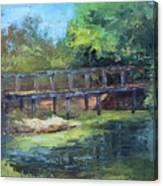 Clearfork Bridge Canvas Print