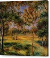 Clearing 1895 Canvas Print