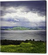 Clearing Over Galilee Canvas Print