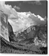 Clearing Skies Yosemite Valley Canvas Print
