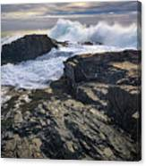 Clearing Storm At Bald Head Cliff Canvas Print