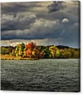 Clearing Storm Chippewa Lake Panorama  Canvas Print
