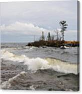 Clearing Storm Over Lake Superior Canvas Print