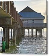 Clearwater Beach Pier Canvas Print