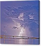 Clearwater Memorial Bridge II Canvas Print
