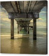 Clearwater Pier Canvas Print